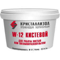 Гидроизоляция Кристаллизол W12 кистевой